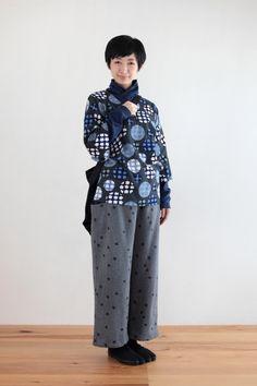 Kimono Sleeve Cotton Tops Marbles : SOU • SOU US Online Store