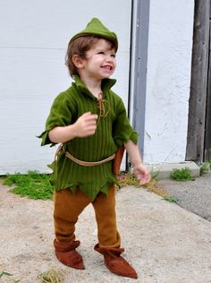 Peter Pan-Robin Hood halloween costume kids boys.  sc 1 st  Pinterest & DIY Handmade kids Robin Hood and Friar Tuck Halloween costumes ...
