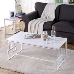 310.00$  Buy here - http://ai6jp.worlditems.win/all/product.php?id=32798719202 - Metal Chinese Iron Long Simple Fashion Large-sized Apartment Living Room Wood Glass Top With Metal Coffee Tea Table