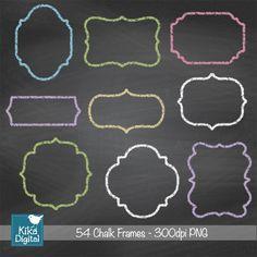 54 molduras Alta Resolução 300dpi PNG´s (fundo transparente) (9 modelos em 6 cores: branco, rosa, azul, roxo, verde, amarelo) O tamanho de cada moldura é aprox: 15,20 x 15,20  Você pode usá-los para: scrap, recados, criação de cartões, convites, adesivos, jóias, artesanato em papel, web design, fotografia e muito mais.  Uma vez confirmado seu pagamento, mandarei um e-mail em até 24h, para o endereço que mencionar na compra, com o link para download do produto comprado.  Para uso pessoal e…