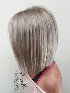 Grey bob cuts hairstyle