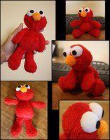 Elmo Plushie by puimun. free pattern