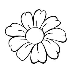 Flower drawing flower drawings easy easiest flower to draw simple flower drawing ideas easy flower drawings Flower Drawing Tumblr, Simple Flower Drawing, Flower Pattern Drawing, Easy Flower Drawings, Simple Flower Design, Simple Flower Tattoo, Flower Outline, Flower Sketches, Simple Flowers