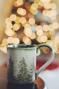 "christmas-merry-and-bright: "" 🎄❄️ Christmas Winter Dreamin ❄️🎄 "" Christmas Time Is Here, Merry Little Christmas, Noel Christmas, Winter Christmas, All Things Christmas, Christmas Coffee, Christmas Lights, Christmas Morning, Spirit Of Christmas"