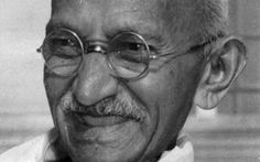 Gandhi         ''Objects tell a lot about a person and the life they lead. In the case of Mohandas Gandhi, the few objects he called his own speak volumes. At the time of his death, Gandhi's earthly possessions could be counted on two hands: His two dinner bowls, wooden fork and spoon, the famous porcelain monkeys, his diary, prayer book, watch, spittoon, letter openers and two pair of sandals.''