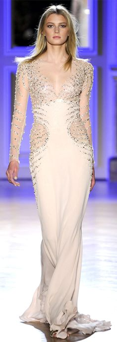 I don't know whether I love it: Zuhair Murad SPRING/SUMMER 2012 Zuhair Murad High Fashion Haute Couture glamour featured fashion Prom Dress 2013, Dresses 2013, Prom Dresses, Style Couture, Couture Fashion, Runway Fashion, Paris Fashion, Fashion Week, Love Fashion