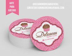 Logotipo Brigaderia Gourmet Delicacau - Cantinho do blog