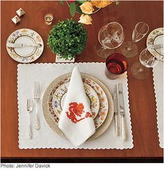 Mix & Match China and Glassware - Atlanta's preeminent hostess, tastemaker Danielle Rollins, shares her five cardinal rules for setting the perfect Southern table. (Southern Living)