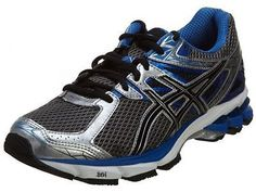 Asics GT-1000 3 Mens T4K3N-9190 Silver Black Blue Running Shoes Sneakers Sz 10.5