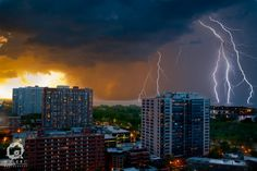 Lightning over Lake Michigan, My cousin's photography...he is very talented!