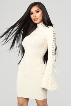 8951806d7ae Next To Me Knit Dress - Ivory. Hot OutfitsDress OutfitsWomen s Fashion ...