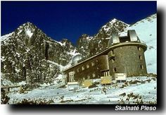Skalnate Pleso Observatory with Lomnicky Stit in the background-Tatranská Lomnica-Eslovaquia. The organization I work for in Colorado collaborates with these folks. High Tatras, Astronomical Observatory, Colorado, National Parks, Beautiful Places, Around The Worlds, Photography, Organization, Outdoor
