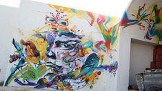 Laguna (Spain) #streetart #erriadh #djerba #tunisia #acrylic