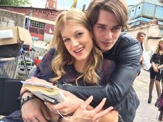 When your two leads actually have a great friendship and enjoy working together, it's a film makers dream! Both JOHNNIE (Nicholas Galitzine) and RUBY (Keenan Kampa)  got along well both on and off the screen!