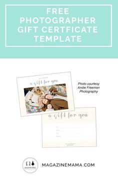 Showered with love wrapping a baby shower gift certificate free gift certificate photography template download now httpmagazinemama yadclub Gallery