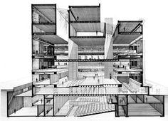 ▲ Rudolph | Art & Architecture Building | 1963 ▲