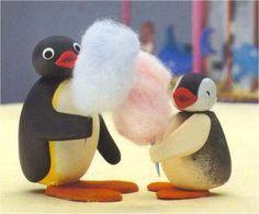 pingu with candyfloss! Cartoon Pics, Cute Cartoon Wallpapers, Cartoon Characters, Pingu Pingu, Pingu Memes, Dankest Memes, Funny Memes, Mood Pics, Reaction Pictures