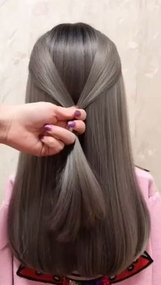 🌟Access all the Hairstyles: - Hairstyles for wedding guests - Beautiful hairstyles for school - Easy Hair Style for Long Hair - Party Hairstyles - Hairstyles tutorials for girls - Hairstyles tutorials compilation - Hairstyles for short hair - Bea Little Girl Hairstyles, Braided Hairstyles, Cool Hairstyles, Beautiful Hairstyles, Hairstyles Videos, Wedding Hairstyles, Hair Upstyles, Long Hair Video, Hair Videos