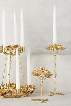 These intricate candle holders. | 48 Cheap Pieces Of Decor That Look Like A Million Bucks
