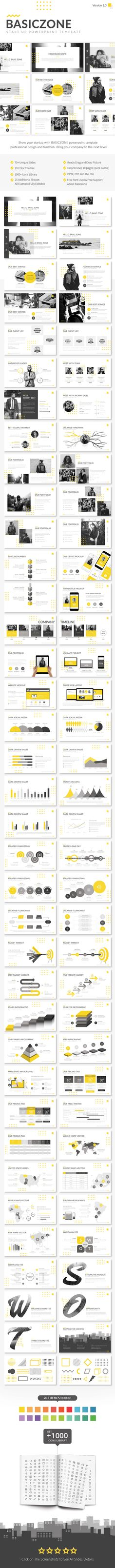 Basiczone V1 - Start Up Powerpoint Template - Creative PowerPoint Templates
