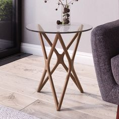 The Star-Crossed Side Table is an original design by world-renowned, award-winning Sean Dix and is available exclusively at Inmod. Its distinctive geometric bas Metal Furniture, Diy Furniture, Furniture Design, Furniture Making, Living Room Furniture, Coffe Table, Center Table, Modern Table, Glass Table