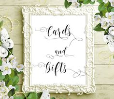 70% SALE Cards and gifts wedding printable by PrintableEventsCo