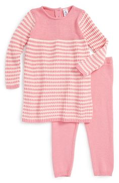 Stem Baby Organic Cotton Sweater Dress & Leggings (Baby Girls)