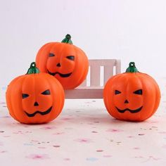 Cute Squishy Pumpkin Slow Rising Foam Hand Cell Phone Charm Strap Kids Toys Gift Cream Cake Bread Scented