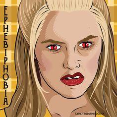 day 16 ephebiphobia fear of teens phobia fear 31daysofhalloween halloween - Phobia Halloween