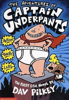 Captain Underpants...Hilarious!! (I laugh harder than the kids!)