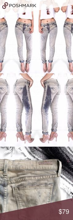 Citizens of humanity acid wash skinny jeans These are super cool! No trades. Open to offers Citizens of Humanity Jeans Skinny