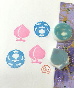 JAPANESE PATTERN - Hand Carved Rubber Stamp / DIY Background Stamps by KeiWorkshop on Etsy https://www.etsy.com/listing/263818095/japanese-pattern-hand-carved-rubber