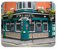 O'Neill 2 - Click on the pub image above to be the first on your block to own a unique authentic traditional family name Pubs of Ireland mousepad. The mousepad is 8¼ x 9 and is made from stain-resistant high density foam. Only $10 ea. (plus $5 s&h). Cheers!