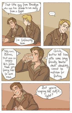 Bucky Barnes Steve Rogers fan art fanart stucky cute funny captain America the f… - MARVEL Marvel Funny, Marvel Memes, Marvel Art, Marvel Comics, Bucky And Steve, Steve Rogers Bucky Barnes, Dc Memes, The Avengers, Fandoms