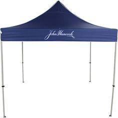 John Hancock Advertising Tent