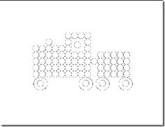 do a dot printables- car and truck Trains Preschool, Q Tip Painting, Do A Dot, Painting Patterns, Art Education, Activities For Kids, Homeschool, Dots, Printables