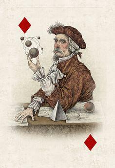 Julian De Narvaez - Cards on Behance