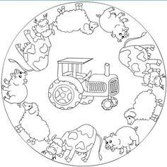 Mandala: boerderij