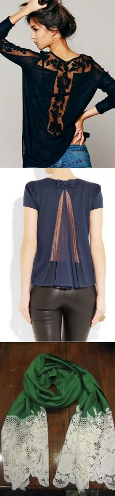 t-shirt lace change..♥ Deniz ♥