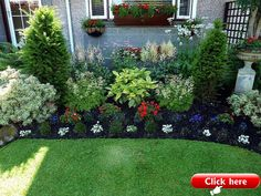 20 Simple But Effective Front Yard Landscaping Ideas 2019 Silvia would you go for this mix? Planned and structured the Front edge and then everything that fills the planter his more English garden unstructured but with balance The post 20 Simple But Effective Front Yard Landscaping Ideas 2019 appeared first on Landscape Diy.
