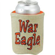 Auburn Tigers Khaki Canvas Can Koozie #Fanatics #Ultimate Tailgate