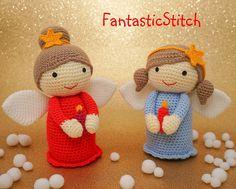Ravelry: Christmas Angel pattern by Anastasia Eisenberg
