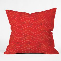 Julia Da Rocha StarFish Outdoor Throw Pillow | DENY Designs Home Accessories