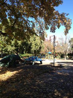Los juegos del Parque Juan XXIII- Ñuñoa- Santiago- Chile