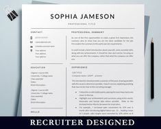 Student Jobs, Student Resume, College Students, Marketing Resume, Sales Resume, Resume Words, Resume Writing, Simple Resume Template, Resume Templates
