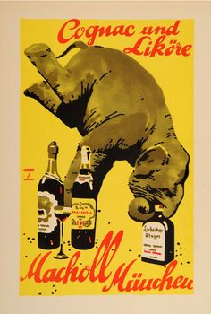 Elephant Posters & Signs   Ludwig Hohlwein, 1926