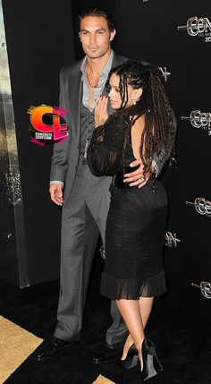"Lisa Bonet Jason Momoa Photos Photos - Premiere Of Lionsgate Films' ""Conan The Barbarian"" - Arrivals - Zimbio Hot Couples, Famous Couples, Black Couples, Couples In Love, Celebrity Couples, Beautiful Couple, Black Is Beautiful, Aquaman, Jason Momoa Lisa Bonet"