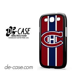 Montreal Canadiens Logo Carbon DEAL-7412 Samsung Phonecase Cover For Samsung Galaxy S3 / S3 Mini