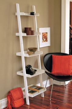 Hadfield Leaning Shelf - White on HauteLook