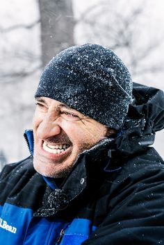 No one revels in the harsh and beautiful science of climate more than the Weather Channel's franchise anchor. Just ask him about thundersnow. Jim Cantore, Alex Wilson, The Weather Channel, Popular Mechanics, Winter Hats, America, Actors, Guys, People